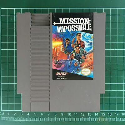 Mission: Impossible • Nintendo Entertainment System NES
