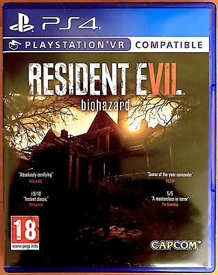 Resident Evil VII 7 - Biohazard - Playstation PS4 Games - Good Condition