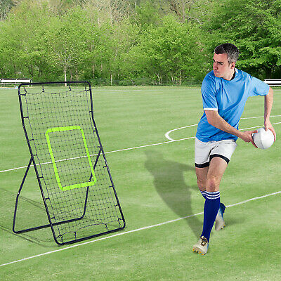 Multi-Sport Rebounder Net Pitchback Return Trainer Adjustable Target