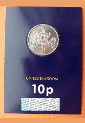 COLLECTABLE...A-Z 10p coin...BUNC/EARLY STRIKE...J-JUBILEE....2018..