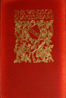 The Windsor Shakespeare: Volume IX, henry N. Hudson, Very Good Book