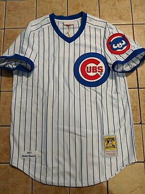 3e7416704 Andre Dawson Chicago Cubs Mitchell & Ness 1987 Authentic Jersey Men's White  NWT