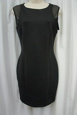 7c857088aed Guess Los Angeles Robe TAILLE S Noir Geai Extensible Moulant Maille  Teodorina
