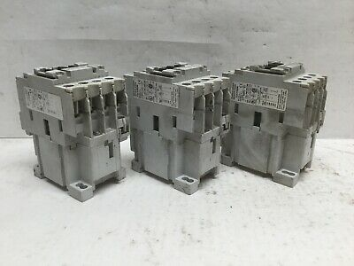 Automation Direct GH15BN Contactor 600V 30A 3PH Coil 220-240V 50/60Hz (Lot of 3)