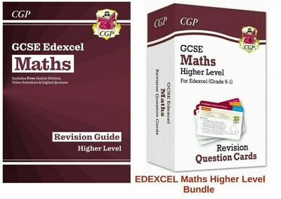 Maths Gcse 9-1 Higher Edexcel Question Cards Flashcards  & Revision Guide