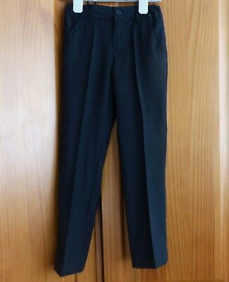 Immaculate Monsoon Boys Black Formal Trousers, Size 6 years, Worn Twice!