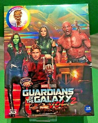 NEW GUARDIANS OF THE GALAXY VOL. 2[3D+2D]Blu-ray STEELBOOK WeET COLLECTION FS A1