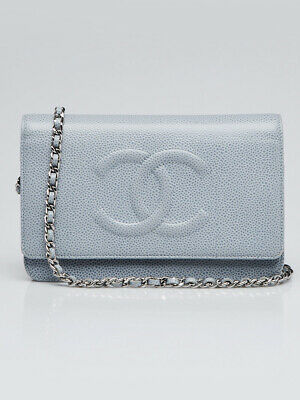 f4af82851d97 AUTHENTIC CHANEL TIMELESS Clutch in Black Lambskin Quilted leather w ...