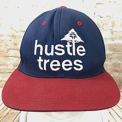 premium selection cd7c3 96cfb Hustle Tree Snapback Cap Hat LRG True Head Adjustable Red Blue Baseball