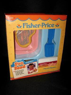 VINTAGE 1989 Fisher Price Fun with Food Replacement Part-French Fries