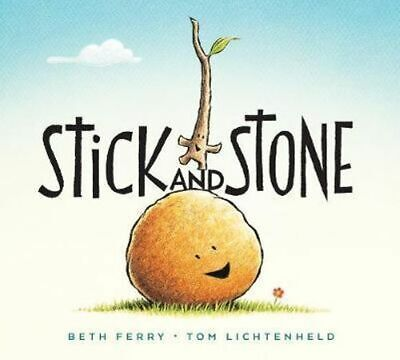 NEW Stick and Stone By Beth Ferry Board Book Free Shipping
