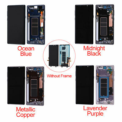 US LCD Touch Screen Display Digitizer + Frame For Samsung Galaxy Note 9 OLED OEM