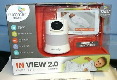 Summer Infant In View 2.0 Color Video Baby Monitor w/ Remote