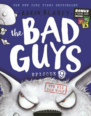 NEW The Bad Guys Episode 9 By Aaron Blabey Paperback Free Shipping
