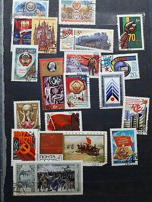 USSR Interesting beautiful stamps On different topics.LENIN Lot 19.