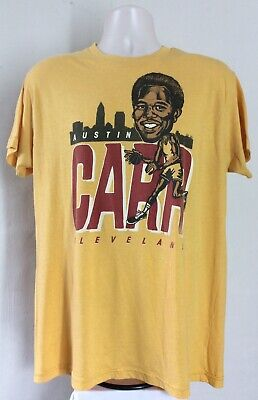 8b1e12b80 Homage Throwback Austin Carr Cleveland Cavaliers T-Shirt Yellow XL Cavs  Retro