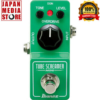 IBANEZ TSMINI Tube Screamer Mini Guitar Effects Pedal 100% Genuine Product