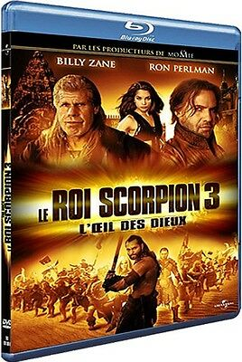 Blu Ray  //  LE ROI SCORPION 3  //  NEUF cellophané