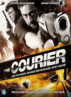 DVD //  THE COURIER  //  Mickey Rourke - Jeffrey Dean Morgan / NEUF sous blister