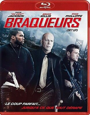 Blu Ray //  BRAQUEURS ( Set Up )  //  B. Willis - R. Phillippe / NEUF cellophané