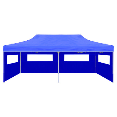 Waterproof Foldable 3x6m Pop Up Gazebo Marquee Garden Awning Party Tent Canopy