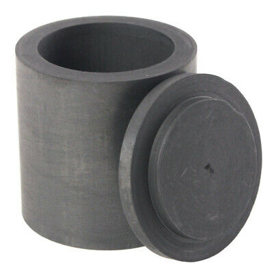 High Purity Graphite Melting Crucible Casting With Lid Cover 40*40mm For Sil 3I8