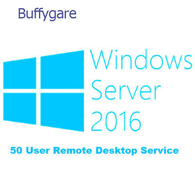 Windows Server 2016 RDS 50 User Cal