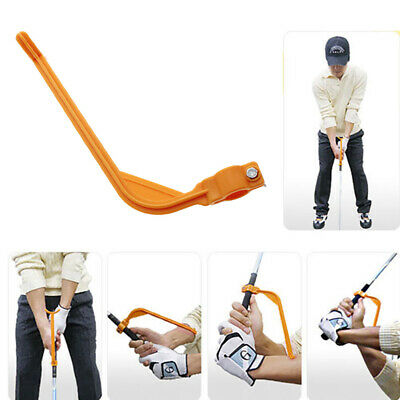 Golf Swing Weight Practice Grip Guide Training Aid/Trainer Tool Irons Driver New