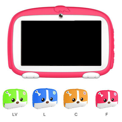 """7"""" 1G +8GB Children Kids Learning HD Tablet PC Android 6.0 Quad Core Wifi Camera"""