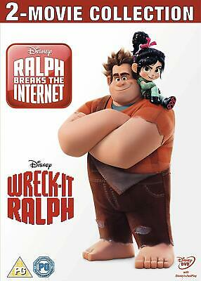 Wreck-It Ralph and Ralph Breaks the Internet Duopack DVD Box Set / Free Delivery