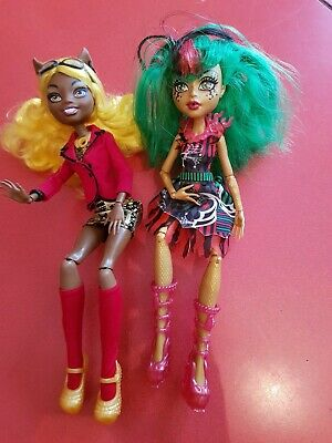 Two Monster High Dolls Good Condition