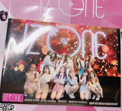 IZ*ONE IZONE JAPAN Debut SHOW CASE Event Limited 2 Photos Set All