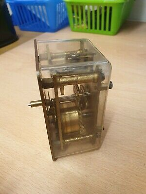 Carriage Clock Style Movement By Davall British Made for spares or repair