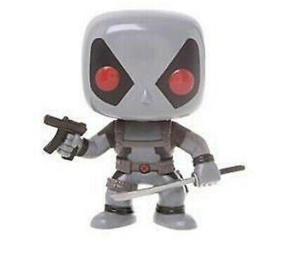 Funko Pop Marvel Universe Deadpool (gray)  #20 Hot Topic Exclusive