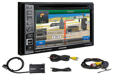 "ALPINE INE-W960HDMI 6.1"" DVD/GPS Navigation Car Receiver w/SiriusXM + Camera"