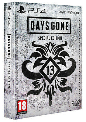 Days Gone Special Edition PS4 Playstation 4 SONY COMPUTER ENTERTAINMENT