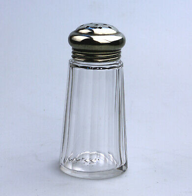 Antique Glass clear Muffineer / Sugar Shaker / Caster 5 C.19thC
