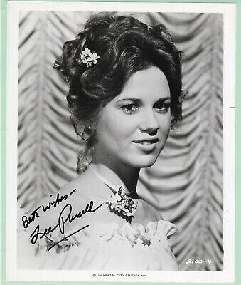 Lee Purcell Signed Autographed B&W Headshot Photo - from the Melchior Collection
