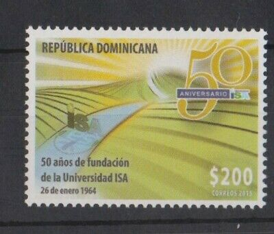 Dominican Republic 2015 ISA MNH per scan
