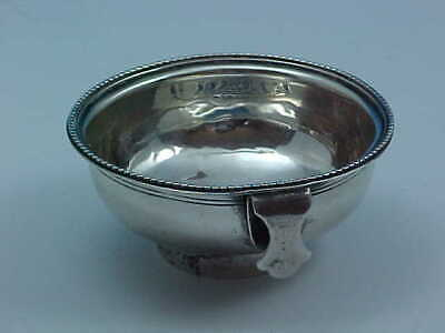 Wine Funnel Strainer Only Sterling Silver 1778 London Armorial Crest Muslin Ring
