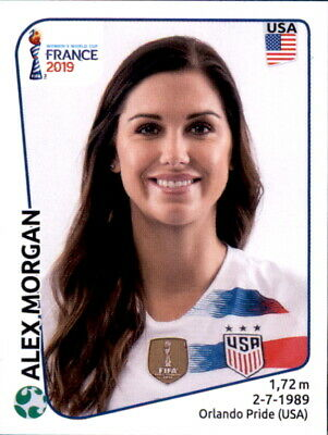 Panini Frauen WM 2019 Sticker 418 - Alex Morgan - USA