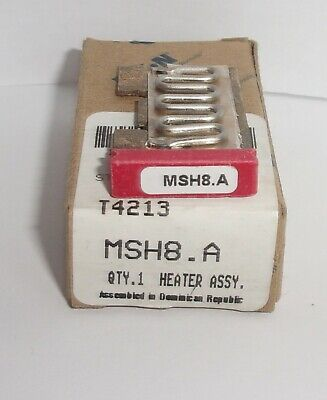 Eaton Cutler Hammer Msh8.A Thermal Heater Overload  For Ms Starter Msh8 A Nib