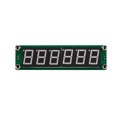 0.1 to 65 MHz RF 6 Digit Led Signal Frequency Counter Cymometer Tester meter 8E8