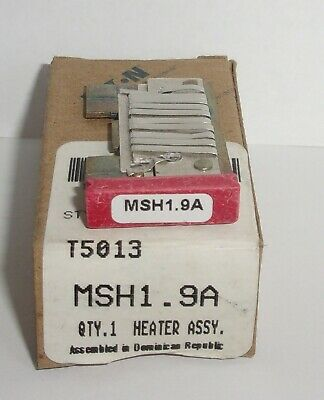 Eaton Cutler Hammer Msh1.9A Thermal Heater Overload  For Ms Starter Msh19A Nib