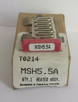 Eaton Cutler Hammer Msh5.5A Thermal Heater Overload  For Ms Starter Msh55A Nib