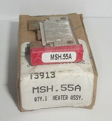 Eaton Cutler Hammer Msh.55A Thermal Heater Overload For Ms Starter Msh 55A Nib