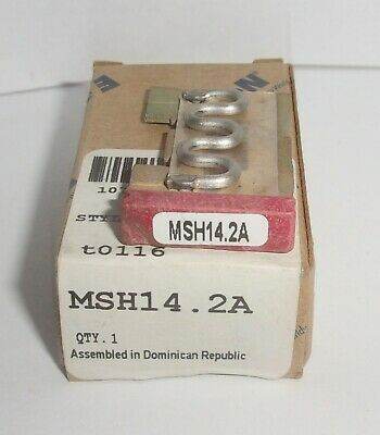 Eaton Cutler Hammer Msh14.2A Thermal Heater Overload  For Ms Starter Msh14 2A