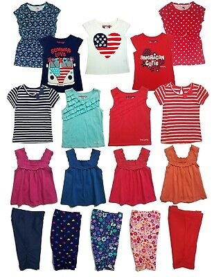 Girls Baby and Toddler Summer t outfits Kids Clothes Dress Top Pants Shirts US