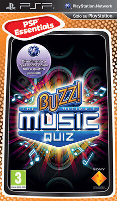 Essentials Buzz! The Ultimate Music Quiz SONY PSP SONY COMPUTER ENTERTAINMENT