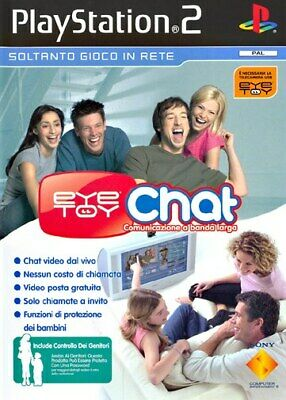 Eye Toy Chat PS2 Playstation 2 SONY COMPUTER ENTERTAINMENT